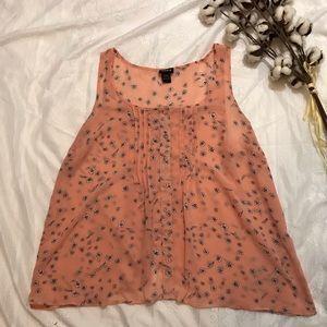 Torrid sleeveless blouse floral